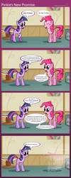Pinkie's New Promise by SubjectNumber2394