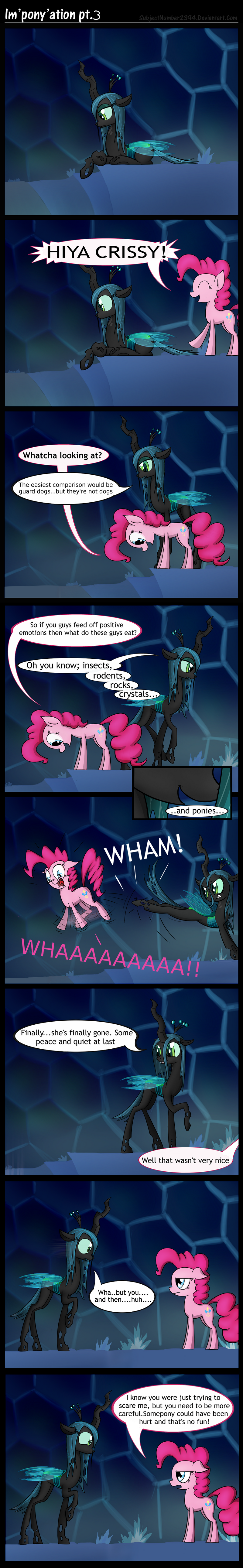 Im'pony'ation pt.3 by SubjectNumber2394
