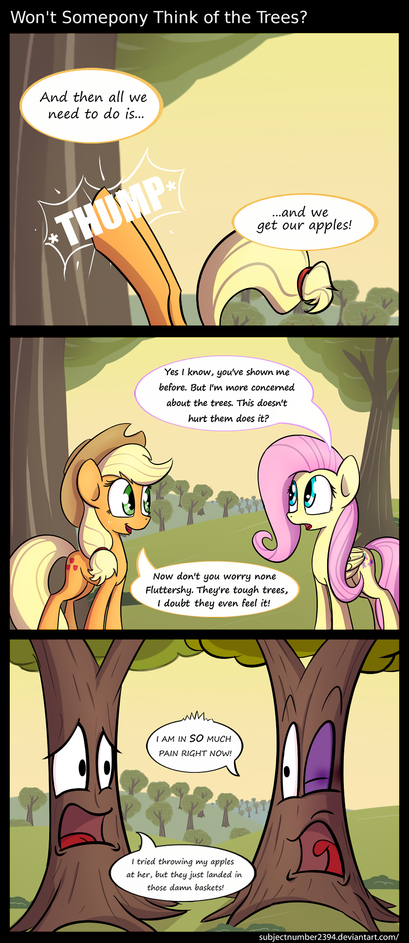 Won't Somepony Think of the Trees by SubjectNumber2394