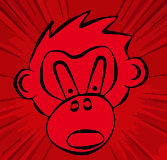 red monkey by apin vasi on deviantart. Black Bedroom Furniture Sets. Home Design Ideas