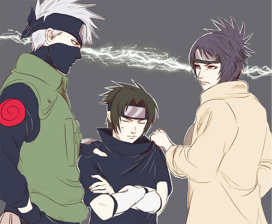Between Sasuke and the Mark by getitdonehuhu