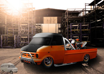 Bedford pick up by Khristian05