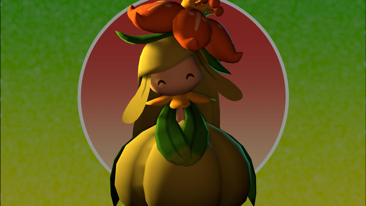 [SFM] Lilligant by CaptainLopunny
