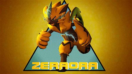 [SFM] Zeraora by CaptainLopunny