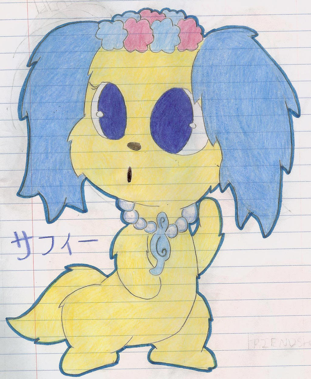 Jewelpet Sapphie by Alice-of-Africa