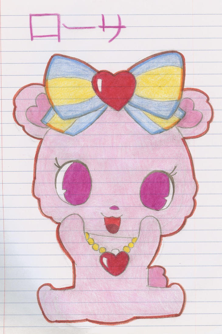 Jewelpet Rossa by Alice-of-Africa