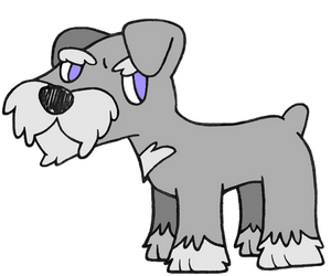 Day 27: Miniature Schnauzer by Alice-of-Africa