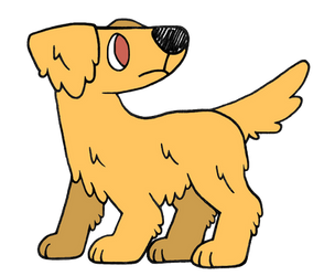 Day 31: Golden Retriever by Alice-of-Africa