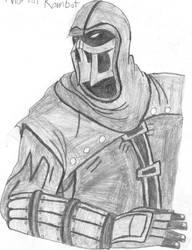 Noob Saibot Sketch by MorriganXWarden