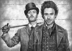 Sherlock Holmes by lupinemagic