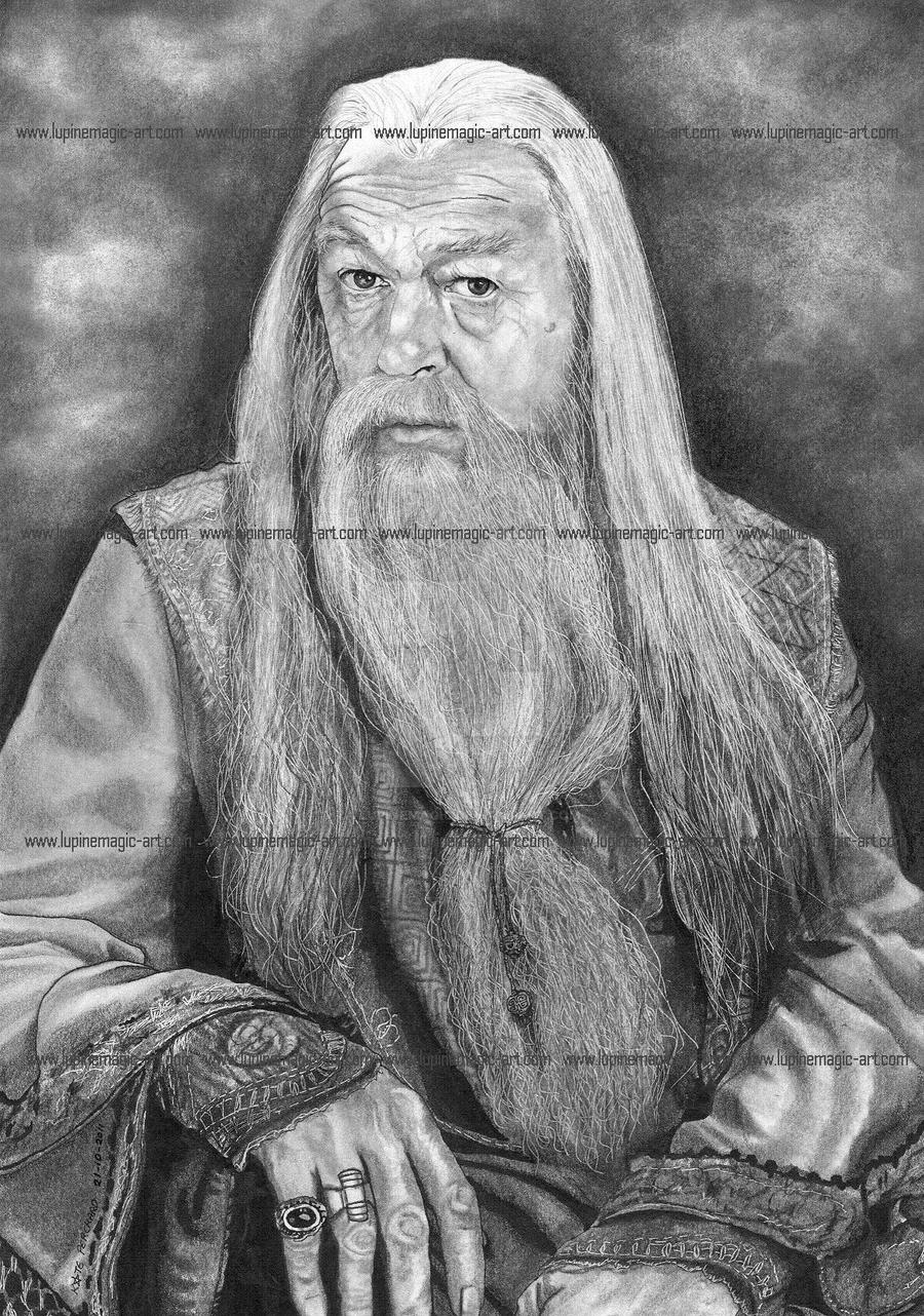 Dumbledore by lupinemagic