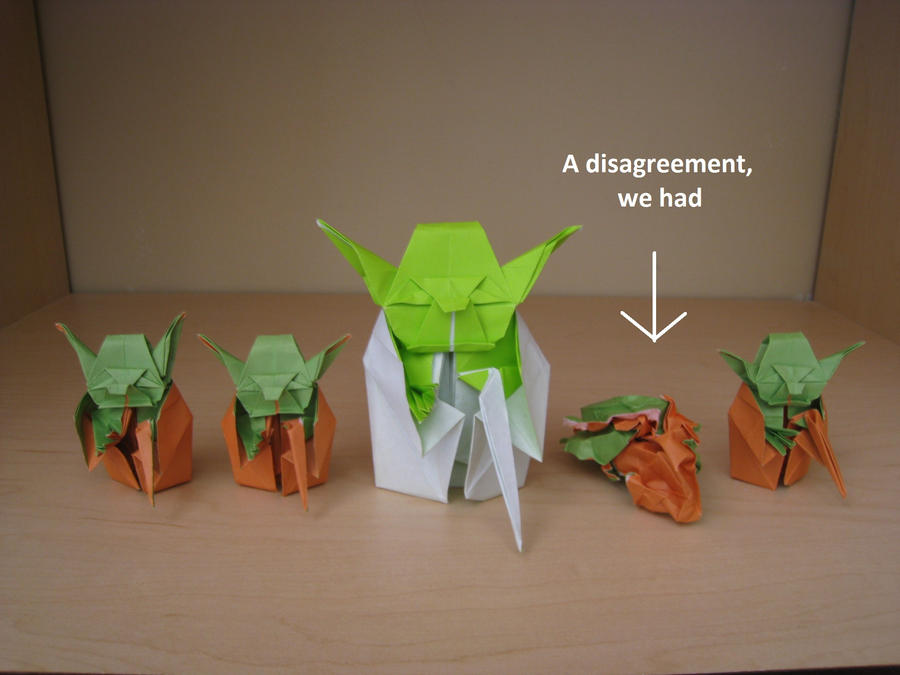 Origami Yoda Beginnings By Acexpression On Deviantart
