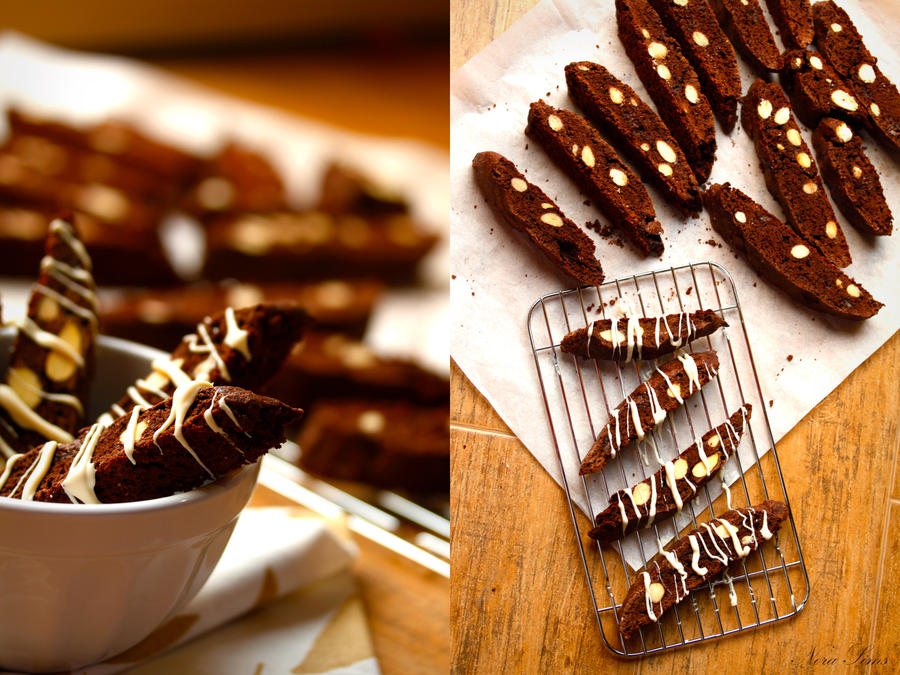 Triple Chocolate Biscotti by Nora-Sims