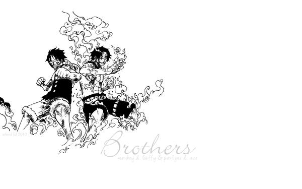 One Piece: D. Brothers w. by ailend
