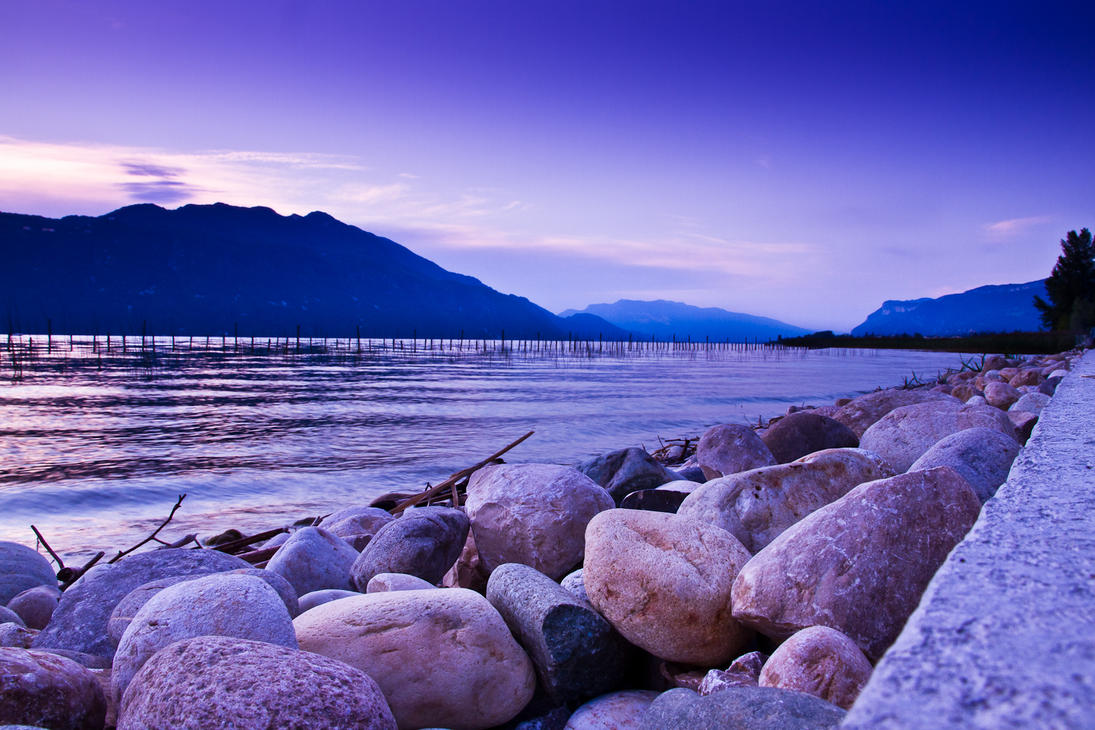 blue lake by klefer