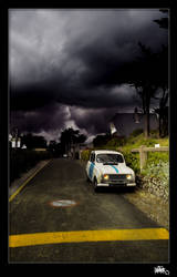 old renault 4L by klefer