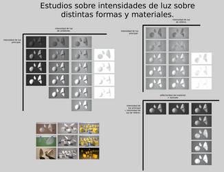 Estudios de luz principal y luz de relleno. by Christian223