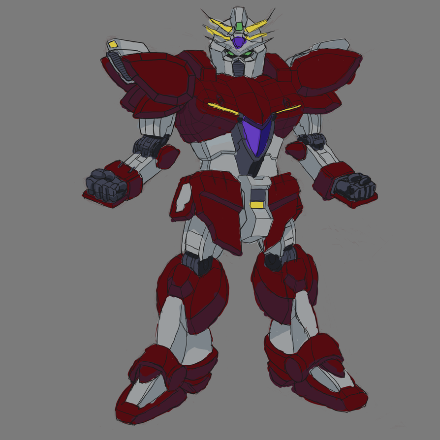 Gundam style roboto 2 by Christian223