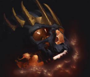 Skull of orm - reinterpretation, but biger. by Christian223