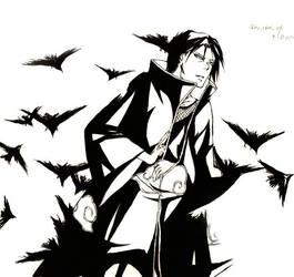 Itachi crows by PATmaruo