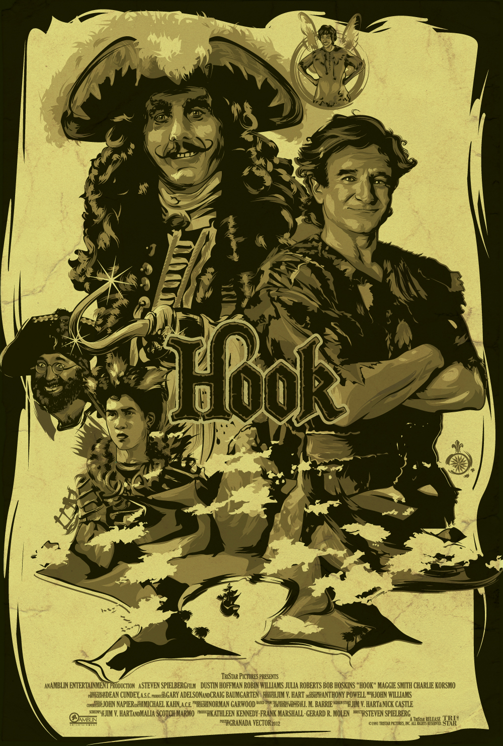 HOOK MOVIE POSTER by GranadaVector on DeviantArt
