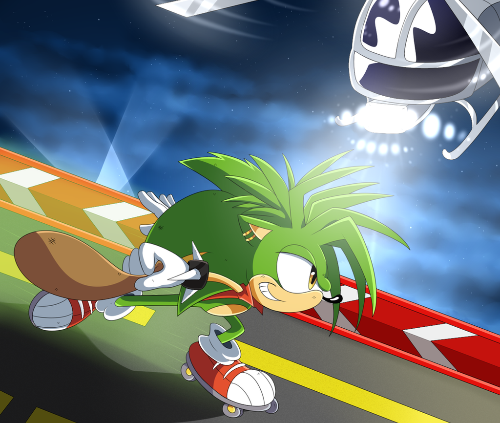 Manic The Hedgehog: On The Run by SonicTheEdgehog on ...