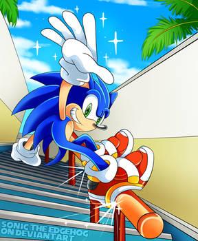 Sonic Grind... Through City Escape!