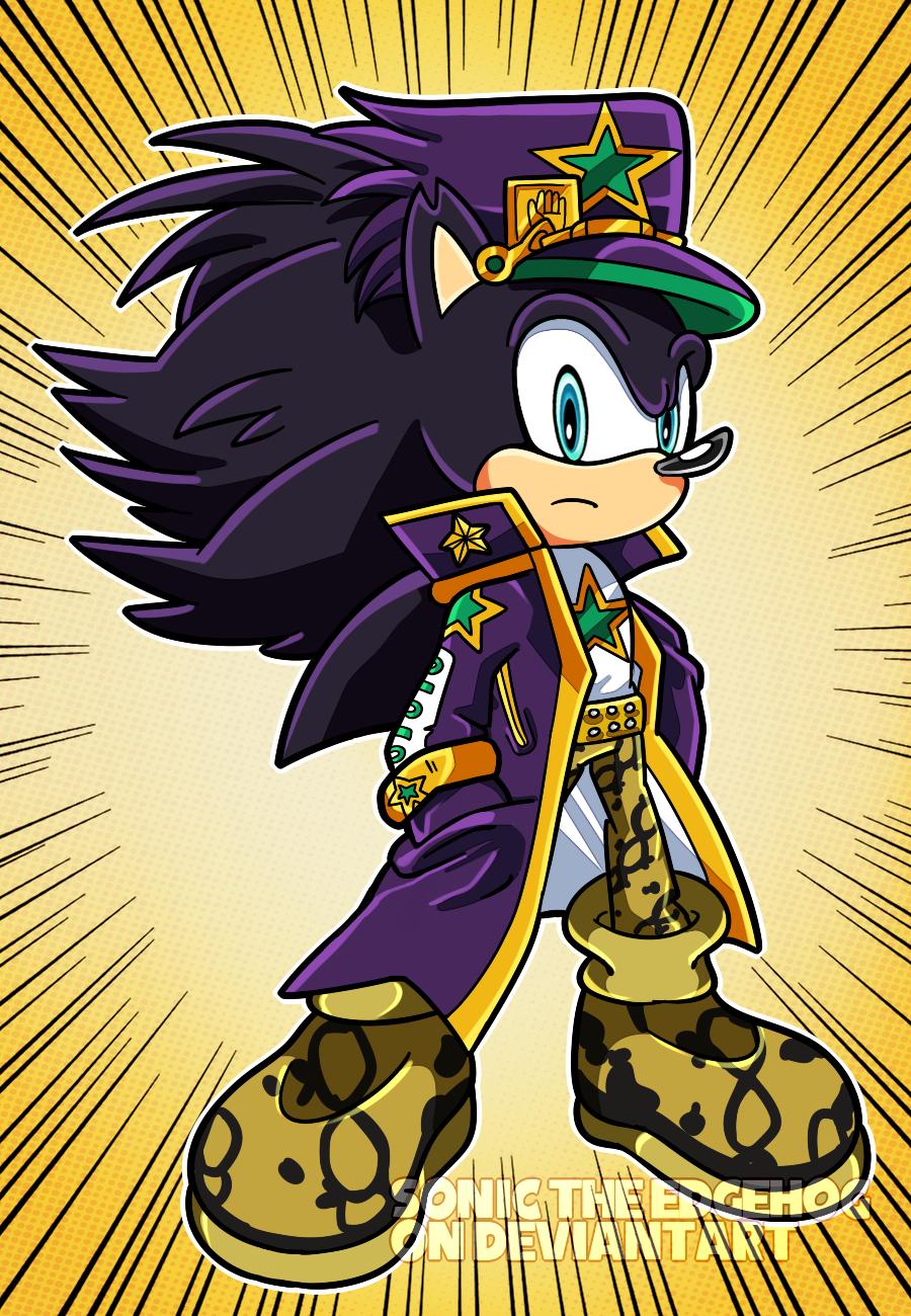 Jojo S Bizarre Sonic Adventure By Sonictheedgehog On Deviantart