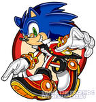 Evil Sonic by SonicTheEdgehog