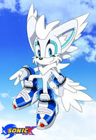 Frosty The Fox Sonic X style