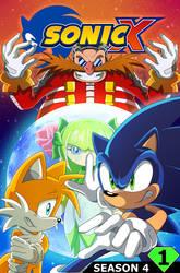 Sonic X Season 4 Issue 1 Cover by SonicTheEdgehog