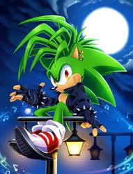 Manic the Hedgehog by SonicTheEdgehog