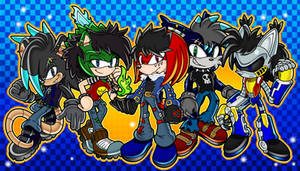 Sonic Channel Adventure OC Commission