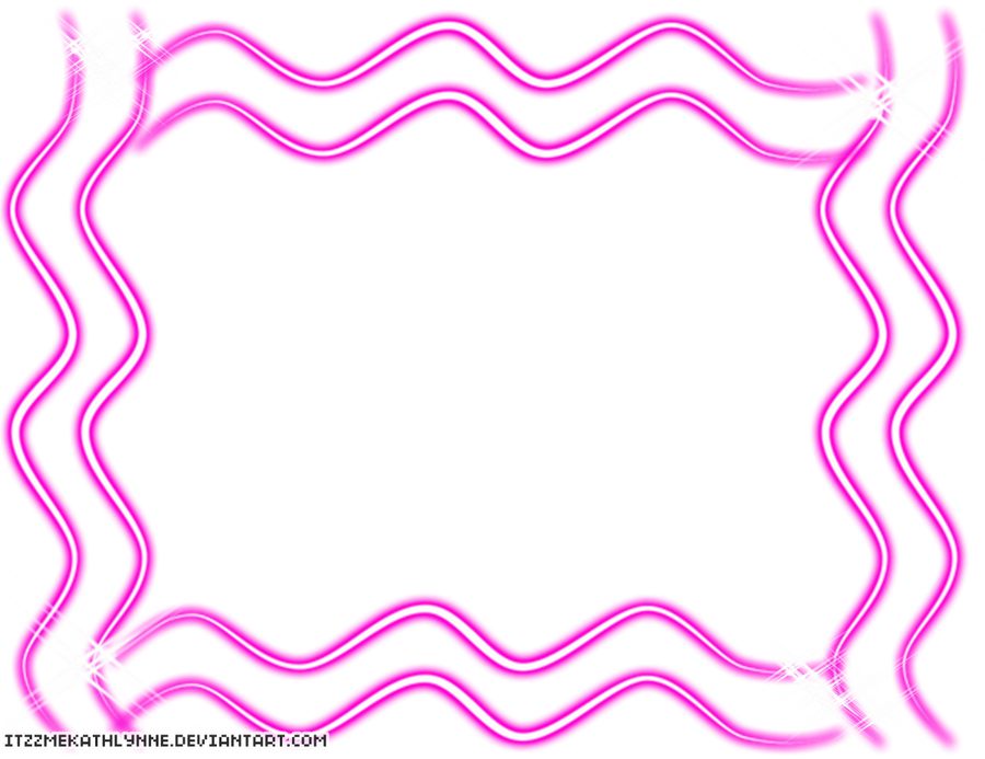 Swirl Frame Png Sparkly Pink Swirl Frame Png
