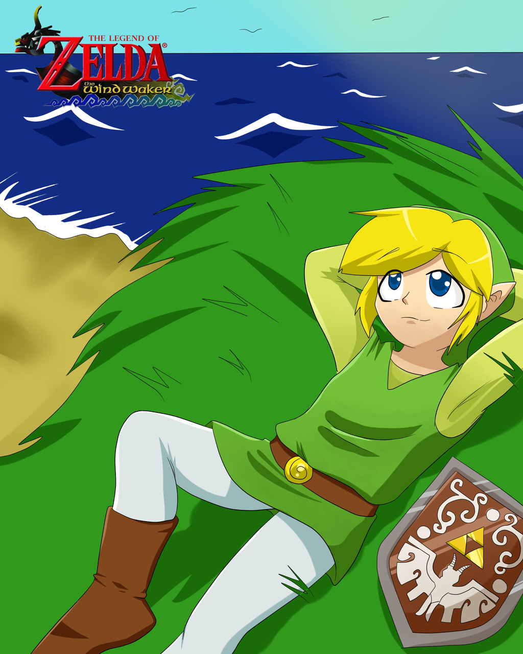 COMM Legend of Zelda WW by KittyKyomi