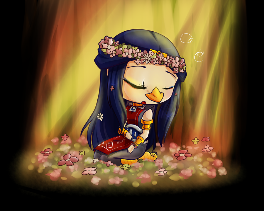 FoH: Sleeping in the Springtime Flowers by KittyKyomi