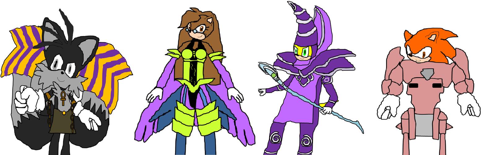 Angus and friends (Yu-Gi-Oh cosplay) by Amazingangus76