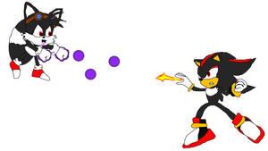 Dark Tails vs Shadow