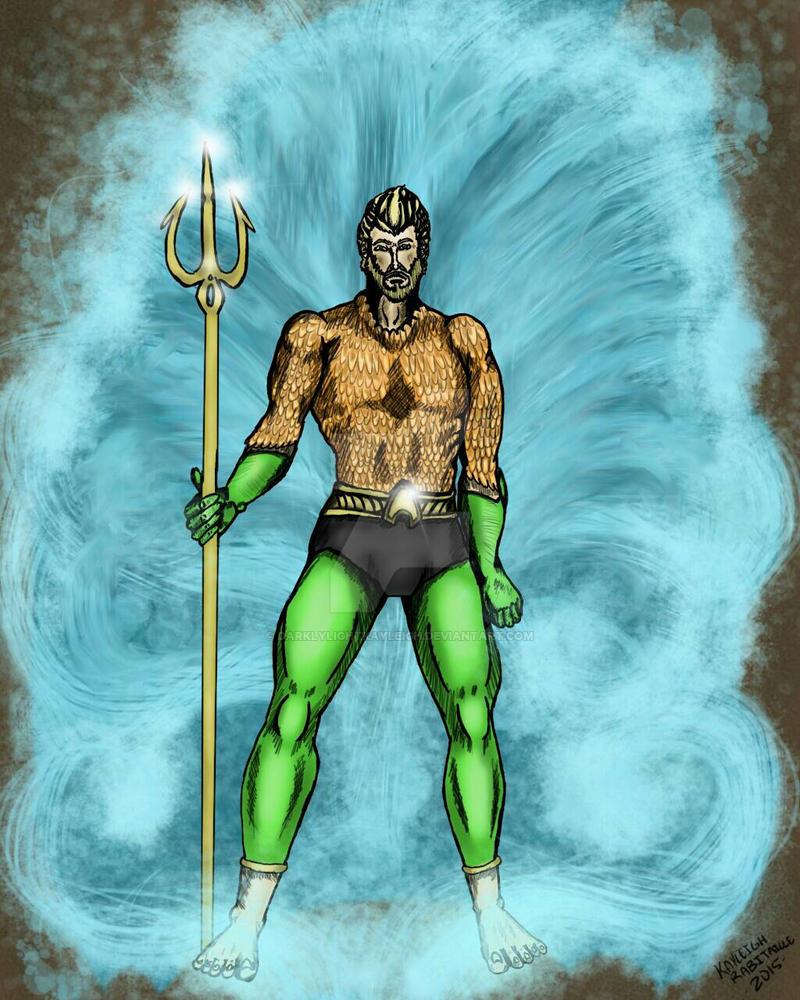 Aquaman  by darklylightkayleigh