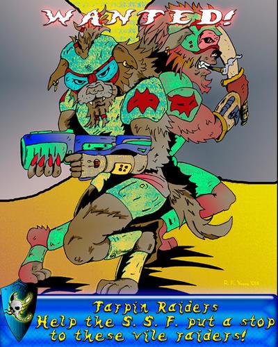 Scorpio Junction Propaganda Poster 6 by Off-Worlder