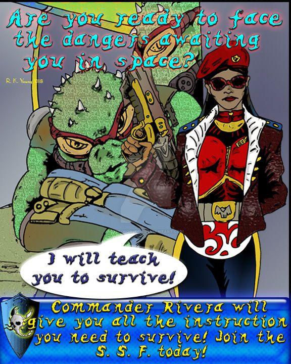Scorpio Junction Propaganda Poster 8 by Off-Worlder