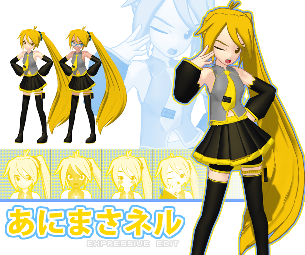 Animasa Neru Expressive Edit DL by Geppi-Nutts