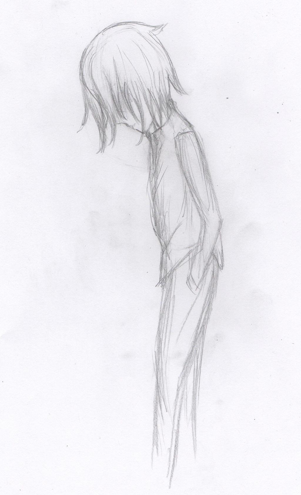 Sad Anime Boy by anapis512 on DeviantArt