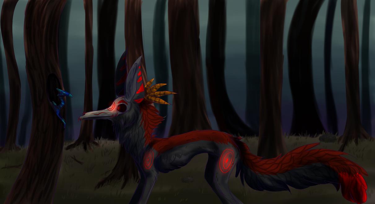 In the forest by MalwinaTruskawka