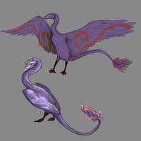 Viper swan by MalwinaTruskawka