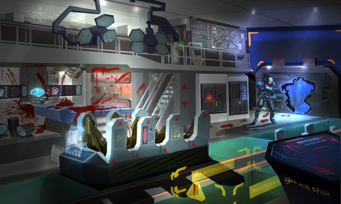 Science Lab - Alien Breakout by H3KATE