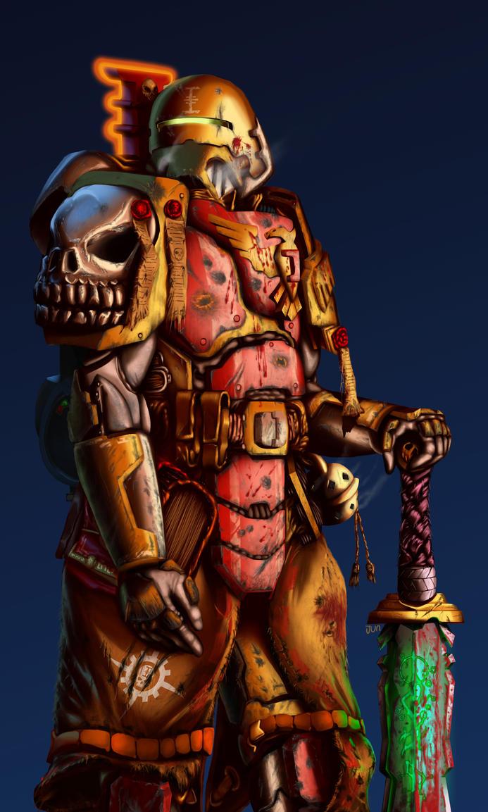 Mechanus Inquisitor Sire Cadmus Kerenski by H3KATE