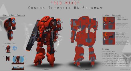 Lancer RPG Fan-Art - Custom Retrofit HA-Sherman