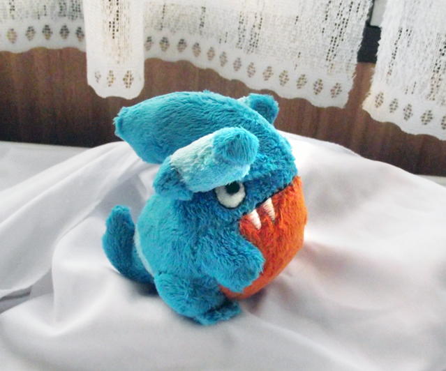 Gible Toy: Gible Plush By XSystem On DeviantArt