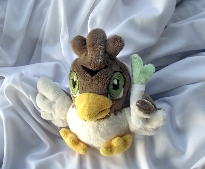 Farfetch'D Pokedoll by xSystem